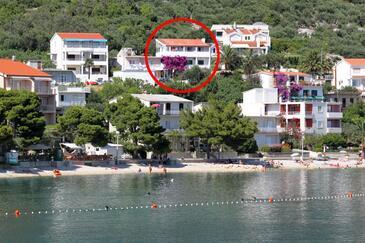 Igrane, Makarska, Objekt 310 - Ubytovanie blízko mora s kamienkovou plážou.