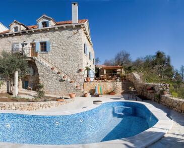 Milna, Brač, Property 3100 - Vacation Rentals by the sea.