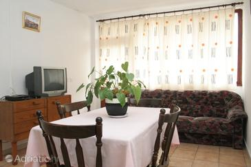 Žrnovska Banja, Living room in the apartment.