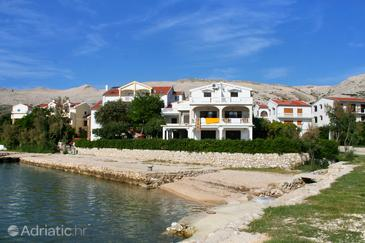 Pag, Pag, Property 3152 - Apartments and Rooms near sea with pebble beach.