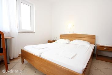 Pag, Спальня в размещении типа room, доступный кондиционер, Домашние животные допускаются и WiFi.