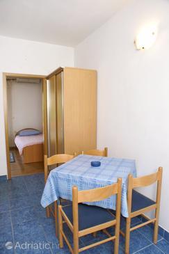 Trpanj, Sala da pranzo nell'alloggi del tipo apartment, animali domestici ammessi e WiFi.