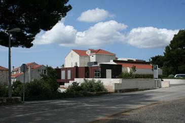 Orebić, Pelješac, Obiekt 3160 - Pokoje przy morzu ze żwirową plażą.