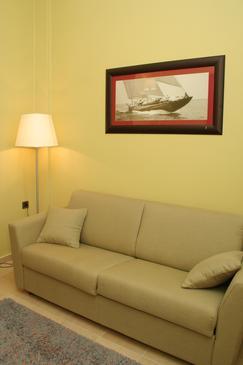 Orebić, Living room in the room.