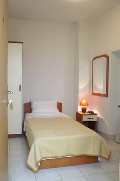 Žuljana, Sypialnia w zakwaterowaniu typu room, Dostępna klimatyzacja i WiFi.