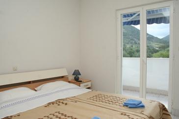 Žuljana, Sypialnia w zakwaterowaniu typu room, dostupna klima i WIFI.