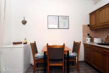 Cavtat, Dining room in the apartment, dopusteni kucni ljubimci i WIFI.