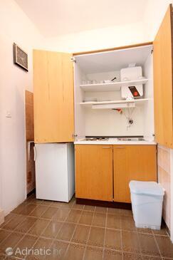 Cavtat, Kitchen in the studio-apartment, dopusteni kucni ljubimci i WIFI.