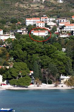 Mlini, Dubrovnik, Property 3182 - Apartments with pebble beach.