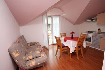 Slano, Jídelna v ubytování typu apartment, domácí mazlíčci povoleni a WiFi.