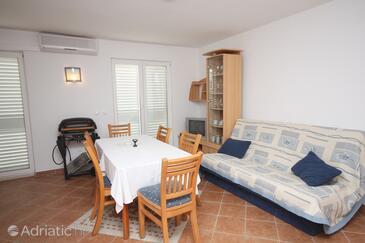 Slano, Blagovaonica u smještaju tipa apartment, dostupna klima, kućni ljubimci dozvoljeni i WiFi.