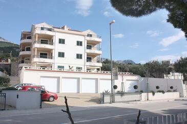Tučepi, Makarska, Obiekt 3193 - Apartamenty przy morzu ze żwirową plażą.