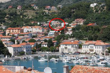 Palit, Rab, Property 3195 - Apartments and Rooms in Croatia.