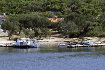 Kobiljak, Pašman, Objekt 320 - Kuća za odmor blizu mora sa pješčanom plažom.