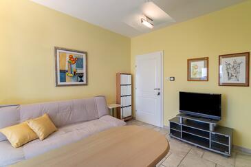 Barbat, Pokój dzienny w zakwaterowaniu typu apartment, zwierzęta domowe są dozwolone i WiFi.