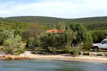 Zuborovica, Pašman, Objekt 321 - Ubytovanie blízko mora s piesočnatou plážou.
