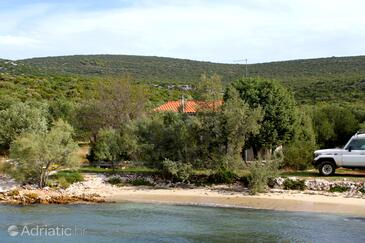 Uvala Zuborovica, Pašman, Property 321 - Vacation Rentals near sea with sandy beach.