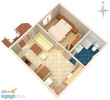 Palit, План в размещении типа apartment, WiFi.