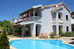 Family friendly apartments with a swimming pool Banjol (Rab) - 3215