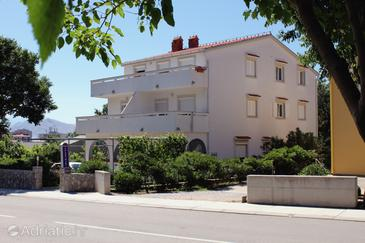 Baška, Krk, Property 3225 - Apartments with pebble beach.