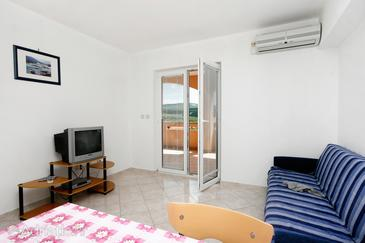 Kornić, Living room in the apartment, dopusteni kucni ljubimci.