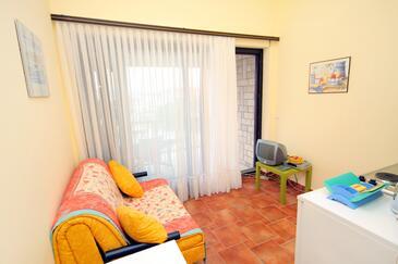 Jadranovo, Living room in the apartment, WIFI.
