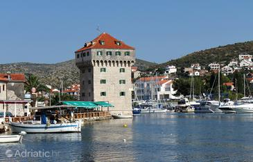 Marina, Trogir, Property 3239 - Rooms near sea with pebble beach.