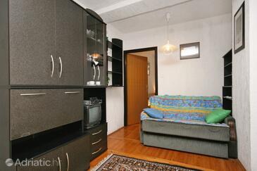 Selce, Гостиная в размещении типа apartment, доступный кондиционер и WiFi.