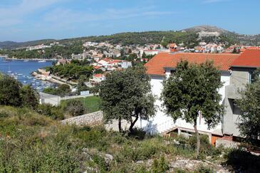 Hvar, Hvar, Property 3245 - Apartments with pebble beach.