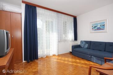 Hvar, Living room in the apartment, WIFI.