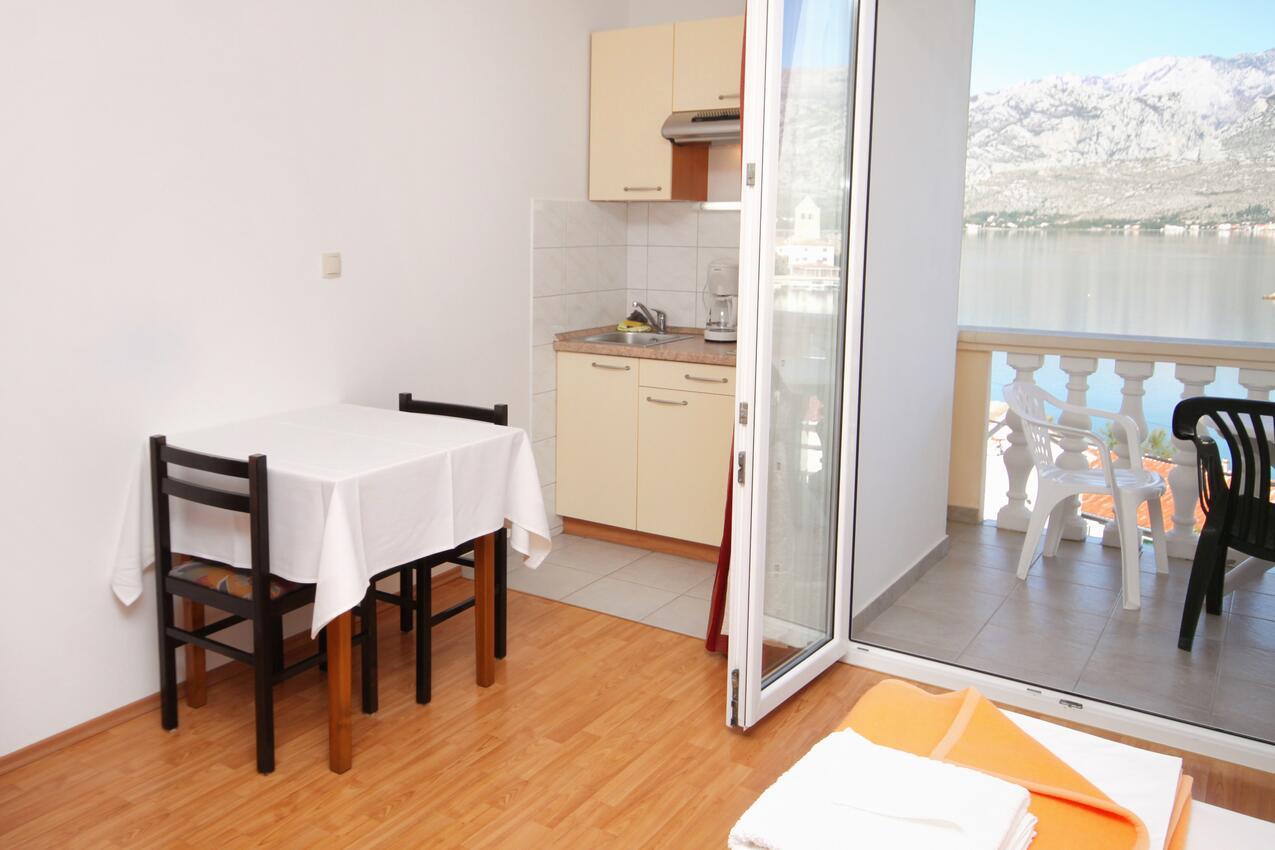 Studio Appartment im Ort Vinjerac (Zadar), Kapazit Ferienwohnung