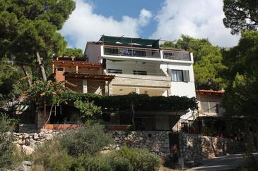 Jagodna, Hvar, Property 3249 - Apartments near sea with pebble beach.