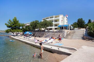 Rtina - Miletići, Zadar, Property 3256 - Rooms near sea with pebble beach.