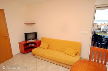 Zadar - Diklo, Living room in the apartment.