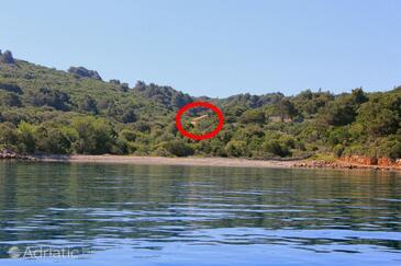 Studenčić, Lošinj, Property 3263 - Vacation Rentals near sea with pebble beach.
