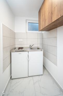 Petrčane, Kuhinja v nastanitvi vrste studio-apartment, Hišni ljubljenčki dovoljeni in WiFi.