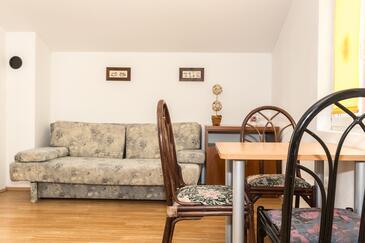 Petrčane, Столовая в размещении типа apartment, доступный кондиционер, Домашние животные допускаются и WiFi.