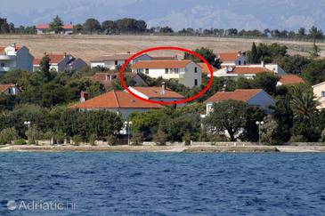 Petrčane, Zadar, Property 3288 - Apartments near sea with pebble beach.