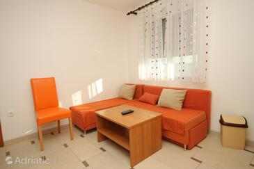 Valbandon, Living room in the apartment, dopusteni kucni ljubimci i WIFI.