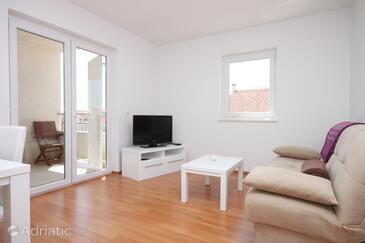 Vidalići, Living room in the apartment.