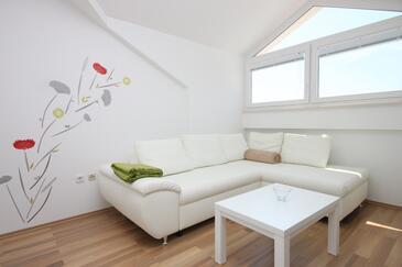 Vidalići, Pokój dzienny w zakwaterowaniu typu apartment, dostupna klima.