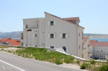 Vidalići, Pag, Property 3309 - Apartments near sea with pebble beach.