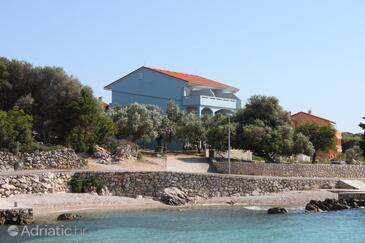 Lun, Pag, Property 3320 - Apartments near sea with pebble beach.