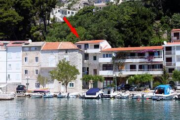 Drašnice, Makarska, Property 3328 - Apartments near sea with pebble beach.