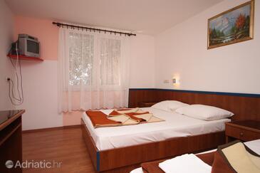Drašnice, Bedroom in the room, dostupna klima, dopusteni kucni ljubimci i WIFI.