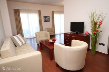 Makarska, Living room in the apartment, WIFI.