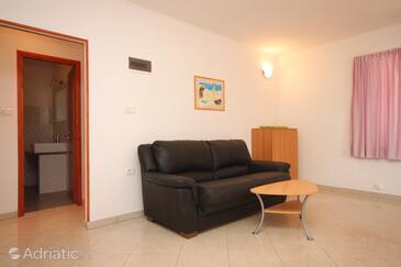 Umag, Гостиная в размещении типа apartment, доступный кондиционер и WiFi.
