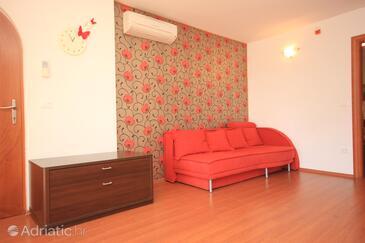 Rovinj, Гостиная в размещении типа apartment, доступный кондиционер, Домашние животные допускаются и WiFi.