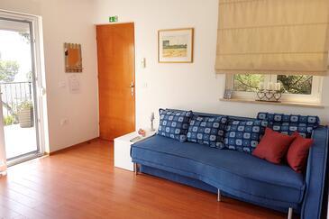 Rovinj, Гостиная в размещении типа apartment, air condition available, Домашние животные допускаются и WiFi.