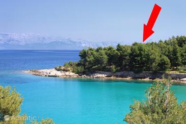 Uvala Grebišće, Hvar, Property 3375 - Vacation Rentals by the sea.